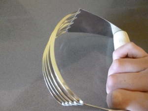 pastry cutter for the farthing biscuits