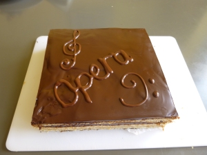 Great British Bake Off opera cake