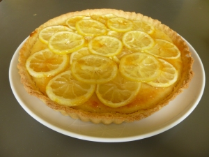 Mary Berry's glazed lemon tart