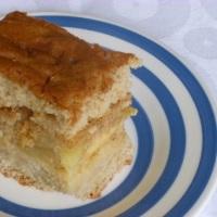 Apple cake with yuzu caramel (sort of)