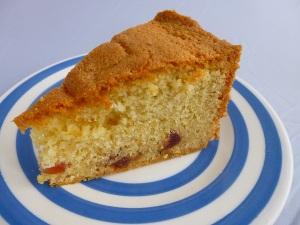English cherry cake